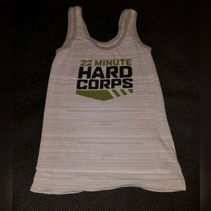 22 Minute Hard Corps Tank Top